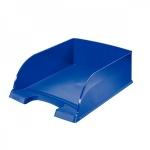 Лоток горизонтальный для бумаг Leitz Plus Jumbo A4, синий