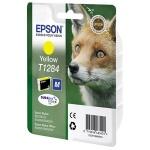 Картридж струйный Epson C13T1284 4011, желтый
