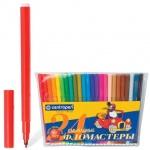 Фломастеры Centropen 7790, смываемые, 24 цвета