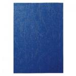 Обложки для переплета картонные Gbc LeatherGrain синие, А4, 250 г/кв.м, 100шт