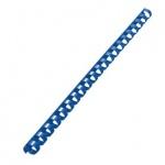 Пружины для переплета пластиковые Gbc синие, на 60-90 листов, 12мм, 100шт, кольцо