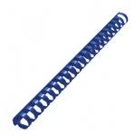 Пружины для переплета пластиковые Gbc, на 140-170 листов, 19мм, 100шт, кольцо, синие