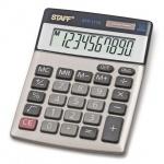 Калькулятор настольный Staff STF-1110 серебристый, 10 разрядов