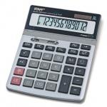 Калькулятор настольный Staff STF-1712 серебристый, 12 разрядов