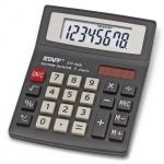 Калькулятор настольный Staff STF-8008 серый, 8 разрядов
