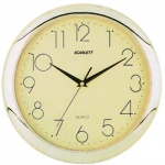 Часы настенные Scarlett SC-45C золотые, d=28см, круглые