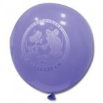 Воздушные шары Веселая Затея герои мультфильмов 12 цветов металлик, 25см, 100шт, в пакете, 1103-0005