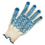 Перчатки трикотажные Волна 5 пар, с ПВХ, 600800