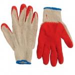 Перчатки трикотажные, латексное покрытие, 5 пар
