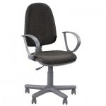 Кресло офисное Nowy Styl Jupiter GTP ткань, JP, крестовина пластик, серое