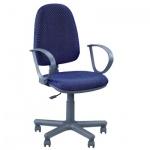 Кресло офисное Nowy Styl Jupiter GTP ткань, синяя, JP, крестовина пластик