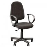 Кресло офисное Nowy Styl Jupiter GTP ткань, серая, C, крестовина пластик