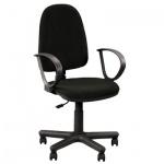 Кресло офисное Nowy Styl Jupiter GTP ткань, черная, C, крестовина пластик