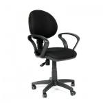 Кресло офисное Chairman 682 ткань, JP, крестовина пластик, черный