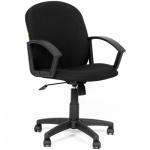 Кресло офисное Chairman 681 ткань, черная, крестовина пластик