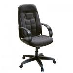 Кресло руководителя Chairman 727, крестовина пластик, черное