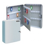 Шкафчик для ключей Brauberg на 90 ключей, ключевой замок, 90 брелоков, 300х80х240мм