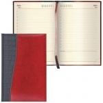 Ежедневник недатированный Brauberg Cayman чёрно-коричневый, А5, 168 листов, комбинированная кожа