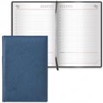 Ежедневник недатированный Brauberg Favorite темно-синий, А5, 168 листов, под классическую кожу