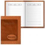 Ежедневник полудатированный Brauberg коричневый, А6, 208 листов