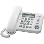 Телефон проводной Panasonic KX-TS2356RU белый