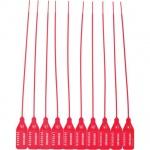 Пломба пластиковая номерная красная, 220мм, 1000шт