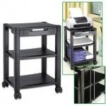 Подставка для принтера Brauberg 435х335х500мм, с 3 полками и 1 ящиком, до 35 кг, передвижная