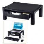 Подставка для принтера или монитора Brauberg 430х340х164мм, с 1 полкой и 1 ящиком