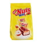 Батончик шоколадный Nuts Mini, 168г