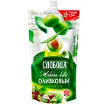 Майонез Слобода Оливковый, 67%, 400 г