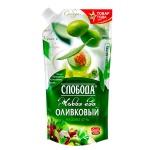 Майонез Слобода Оливковый, 230мл, 67%