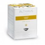Чай Althaus Lemon Mint, ройбуш, листовой, в пирамидках, 15 пакетиков