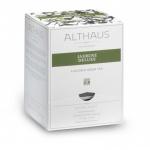 Чай Althaus Jasmine Deluxe, зеленый, листовой, в пирамидках, 15 пакетиков