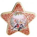 Чай Hilltop Звездочка Морозный рассвет, черный, листовой, 100 г, ж/б