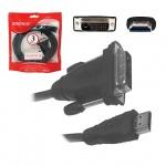 Кабель соединительный HDMI-A-DVI-D Sparks HDMI-A-DVI-D (m-m) 3 м, SN1046