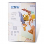 Фотобумага для струйных принтеров Epson А6, 50 листов, 10х15см, 225 г/м2, глянцевая, C13S042176