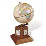 Глобус на подставке Galant с часами, d=90мм, 231181