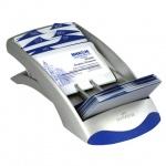 Картотека для визиток Durable Visifix Desk на 200 карточек, 245х131х67мм, синий-серебристый