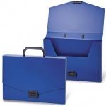 Портфель пластиковый Brauberg Energy синий, 256х330мм, без отделений