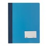 Скоросшиватель пластиковый Durable голубой, А4+, 2680-06