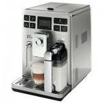 Кофемашина автоматическая Saeco Exprelia DGT SS HD8856/09, 1500 Вт, серебристая