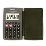 Калькулятор карманный Casio HL-820LV серый, 8 разрядов