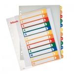 Цифровой разделитель листов Esselte Maxi, А4+, 12 разделов