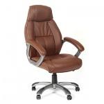 Кресло руководителя Chairman 436 нат. кожа, крестовина пластик, коричн.