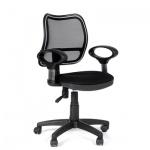 Кресло офисное Chairman 450 ткань, черная, TW, крестовина пластик