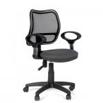Кресло офисное Chairman 450 ткань, серая, TW, крестовина пластик