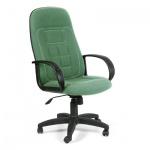 Кресло руководителя Chairman 727, крестовина пластик, зеленое