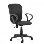 Кресло офисное Chairman Эрго-элегант ткань, крестовина пластик, черное