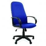 Кресло руководителя Chairman 279 ткань, голубая, JP, крестовина пластик