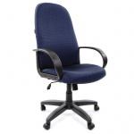 Кресло руководителя Chairman 279 ткань, синяя, JP, крестовина пластик